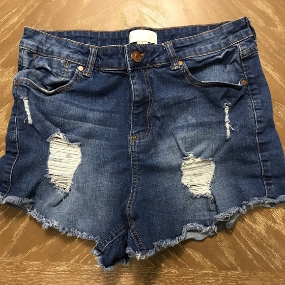 Forever 21 Pants - Desctructed Cut Off Shorts